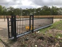 Automated Metal Sliding Gate, FAAC Sensors, Electric Gate