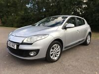 2013 Renault Megane 1.6, very low mileage, excellent condition priced low for quick sale