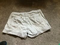 Ladies warehouse denim shorts size 10