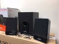 Next 2.1 TV / PC / TABLET / PHONE multimedia surround sound speakers + subwoofer
