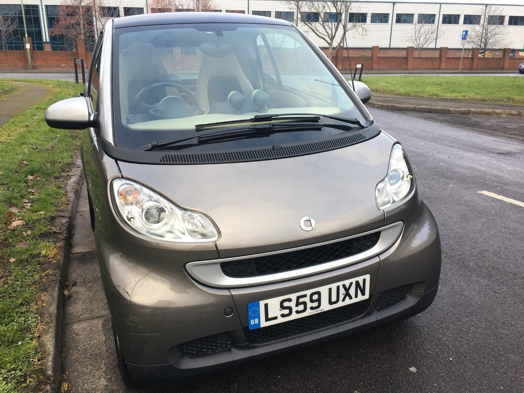 SMART AUTOMATIC 2010 59 REG FORTWO 1.0MHD PASSION