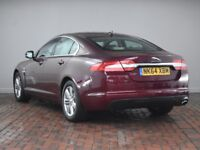 JAGUAR XF 2.2D [163] LUXURY 4DR AUTO (red) 2014