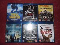 Blu rays - £15 or £3 each