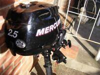 Murcury Outboard 2.5hp