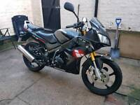 2011 Lexmoto XTR-S 125 Learner Legal 12 Months MOT