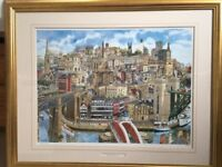Memories of Newcastle Upon Tyne by Martin Stuart Moore -signed limited edition