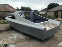 Bargain unfinished project Shetland 535 fishing boat CAN DELIVER