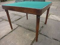 CARD TABLE TRADITIONAL STYLE, 60 X 60 X 46 CM HIGH