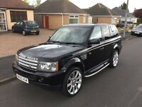 LAND ROVER RANGE ROVER SPORT SUPERCHARGED LPG CONVERTED
