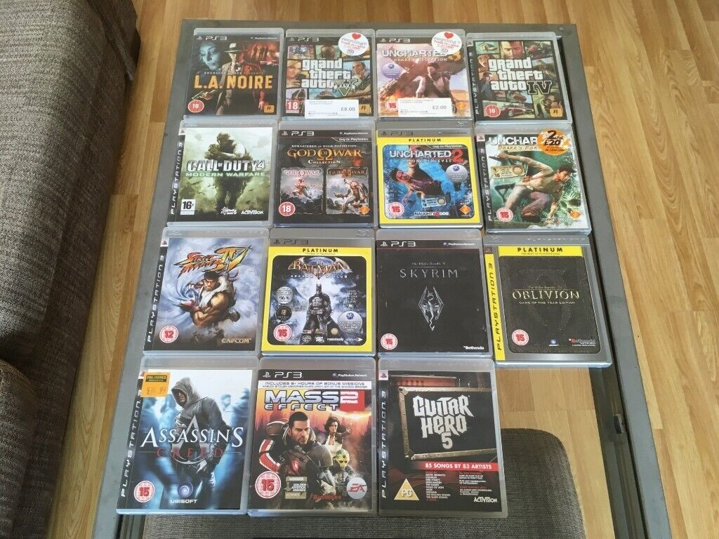 Playstation 3 120gb X2 Controller And Games In North London