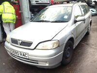 1998 Vauxhall Astra mk4 estate 1.6 club 5dr silver z 147 82L 83U BREAKING FOR SPARES
