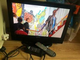 Sanyo 19 inch Hd ready digital lcd Tv yes remote