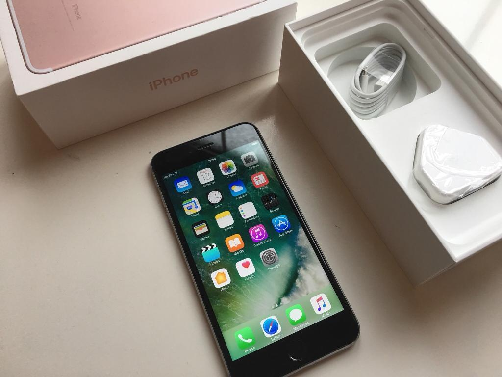 IPhone 6+ Plus - unlocked - 16gb - fully working - good condition - in iPhone 7 Plus box