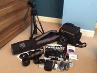 Canon 500d dslr camera