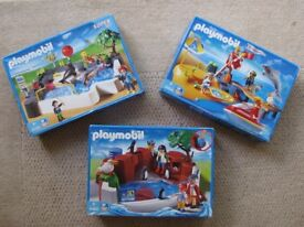 Playmobil 3664 3135 4462 - boxed complete sets