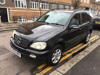 MERCEDES ML350 3.7 AUTOMATIC 2005 (54) 1 PREVIOUS OWNER MOT HISTORY REAR DVD HPI CLEAR