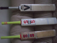 Slazenger & Surridge cricke bats
