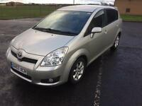 2007 Toyota Verso. Excellent condition. Well maintained. 1.8 litre petrol.
