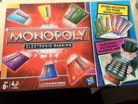 Hasbro Monopoly Electronic Banking Board Game Family Party Fun