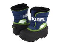 Sorel winter snow boots boys girls VGC size EU 28, UK 10 CLEAN!!