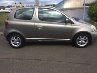 Toyota Yaris 1.3 05 plate Colour Collection