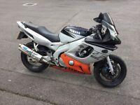 2001 Yamaha Thundercat YZF600R