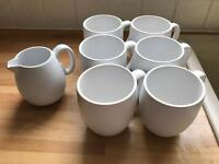 Vera Wang Naturals Wedgewood mugs and jug