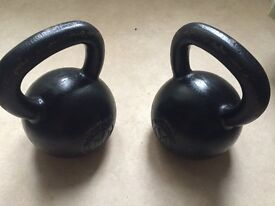 Wolverson Black Series Kettlebells (2 x 28kg)