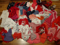 Girls Children's Job Lot of about 60 Items + some shoes