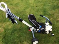 Smart Trike Tricycle black & white colour for boys or girls excellent condition!