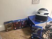 PS4 head set VR bundle