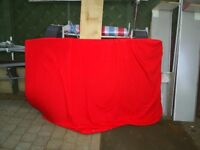 2 x sponge beds from trailer tent approx 6x4ft with cotton covers