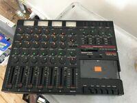 TASCAM 4 Track Porta Two Ministudio Mixing Console
