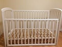 """White Cot """"Anna"""" from John Lewis"""