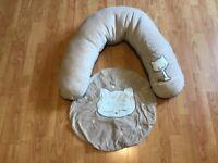 NEW VERTBAUDET Multi Function Maternity Cushion & Cover