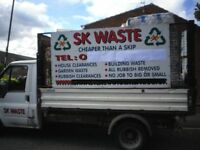 "S K WASTE ...""THE SKIP FREE SERVICE"" 07553429141 SAME DAY CALLOUT"