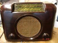 Bush valve radio