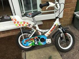 "Halfords lulu 12"" child bike"