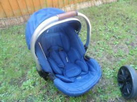 Pram + car seat for sale