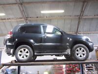 Waxoyl chassis Toyota Land Cruiser Nissan Navara Pathfinder Land Rover Defender.