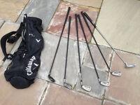 Wilson full Set Of Golf Clubs, Callaway Bag And Balls - Queens Park