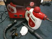 Hoover SSNH1000 Handheld Steam Cleaner with attachments
