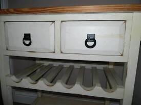 Pine kitchen trolley SOLD