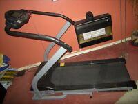 Treadmill Carl Lewis incline, Gym sport equipment tread mill, = Measurments in description x