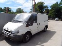 WANTED VAN FORD TRANSIT OR OTHER VAN TO 600 POUNDS