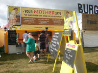Festival Catering assistant with long-established independent company.