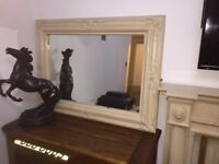 LARGE MARBLE FRAME MIRROR