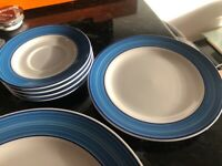 Selection of plates, bowls, side plates saucers and small bowls