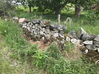 Dry stone walling material wanted