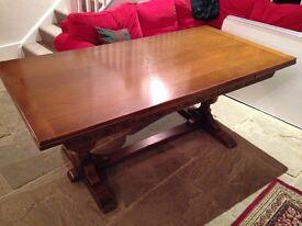 Lovely old oak dining set